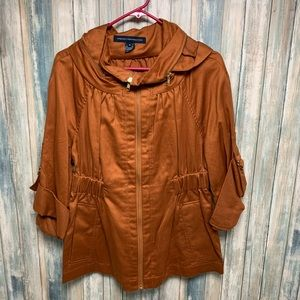 FRENCH CONNECTION Jacket sz 8 Cinch Waist